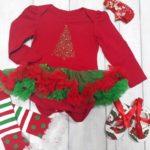 Новогодний костюм для малышки