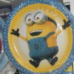 Одноразовая посуда на День Рождения с Миньонами